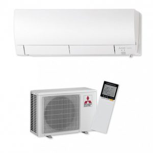 Хиперинверторен климатик Mitsubishi Electric MSZ-FH25VE/MUZ-FH25VE, 9000 BTU, А+++
