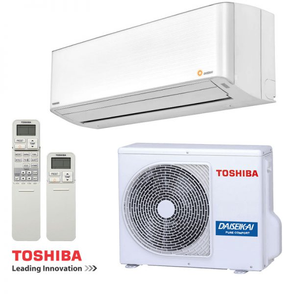Хиперинверторен климатик Toshiba RAS-13PKVPG-E DAISEIKAI 9, 13000 BTU, A+++