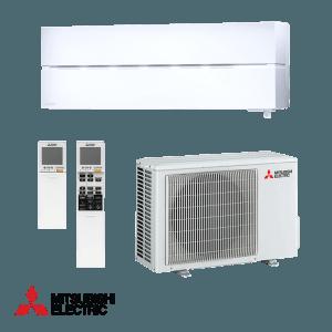 Хиперинверторен климатик Mitsubishi Electric NATURE WHITE LN25VGW , 9000 BTU, А+++
