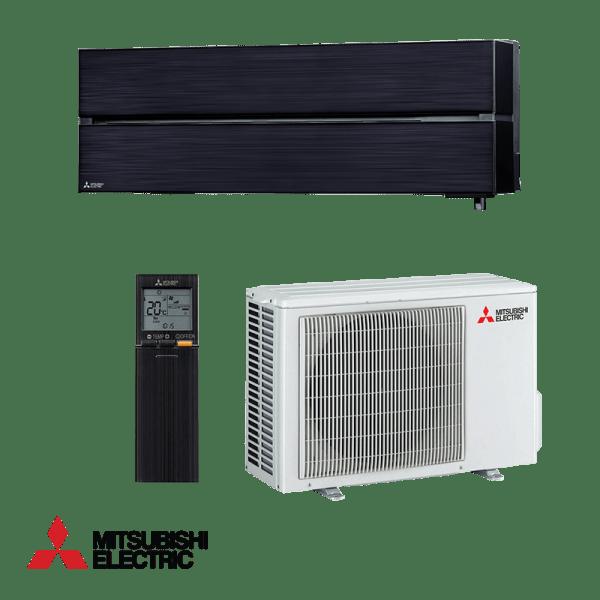 Хиперинверторен климатик Mitsubishi Electric LN35VGB Onix Black, 12000 BTU, А+++