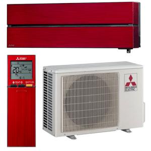 Хиперинверторен климатик Mitsubishi Electric LN35VGR RUBY Red, 12000 BTU, А+++