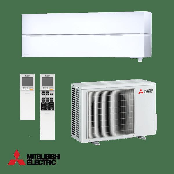Хиперинверторен климатик Mitsubishi Electric NATURE WHITE LN35VGW , 12000 BTU, А+++