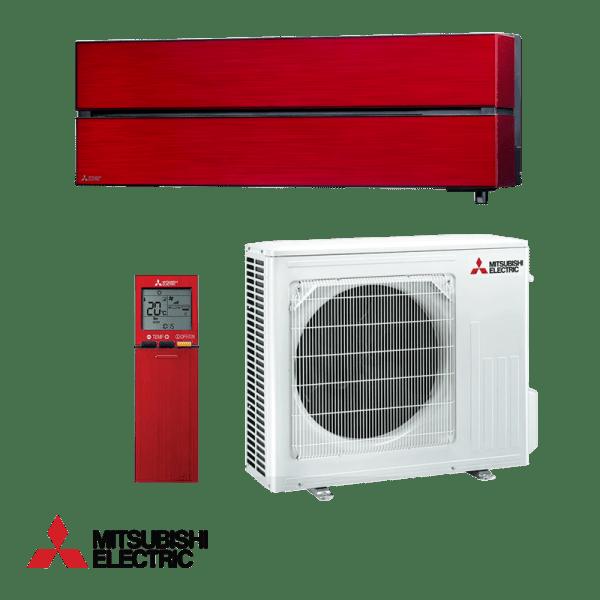 Хиперинверторен климатик Mitsubishi Electric LN50VGR Ruby Red , 18000 BTU, А+++